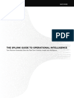 Splunk Guide to Operational Intelligence