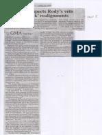 Philippine Star, Apr. 22, 2019, GMA respects Rody's veto of pork realignments.pdf
