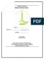 data structure workbook