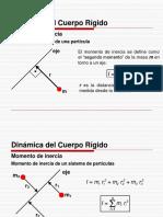 Sólido Rígido - Dinámica de Rotación