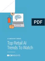CB Insights AI Trends in Retail