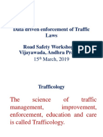 Traffic Data Driven Enforcement