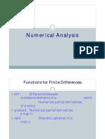 MATLAB -Tutorial on Numerical Analysis