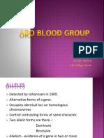 ABO Blood Group Original