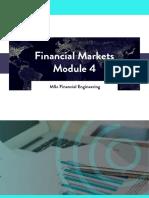 WQU Financial Markets Module 4 Compiled Content