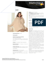 10111907 Poncho Pullover in Schachenmayr 1984 Downloadable PDF 2