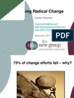 Radical Change Designing