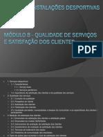 GID - MÓDULO 8 Qualidade de Serviços e Satisfação de Clientes
