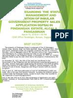 IGPSA presentation