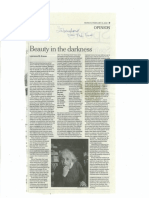 Beauty in the Darkness (NYT)