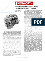 Paccar Mx-13 Ext Warranty