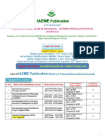 Iaeme Publication Call for Paper March 2019