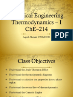 4. Thermodynamic Diagrams and Second Law of Thermodynamics