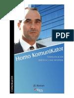 Homo Komunicator.