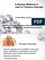 11 the Role NM in the Management of Thoracic Disorder Dr Hanif