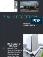 Milk Reception
