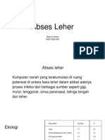 Abses Leher Ppt Fix
