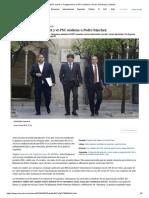 ERC Hunde a Puigdemont y El PSC Sostiene a Pedro Sánchez
