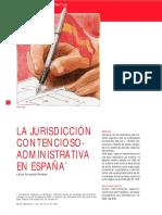Jurisdicao Administrativa Espanha