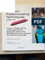 Fashion Patternmaking Techniques Volume 2