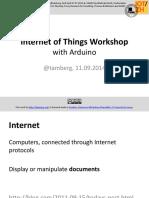 Iot Workshop With Arduinob