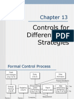 Controls for Differentiate Strategies