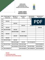 Calendariomatemática Cronograma 2019 1-1