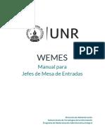 Nuevo Manual Para Jefes de Mesa de Entradas