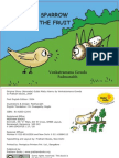 The Sparrow and the Fruit - English