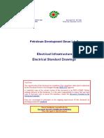 SP 1105 Electrical Standard Drawings