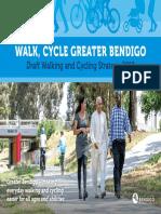 Draft-Walk, Cycle Greater Bendigo Strategy-2019