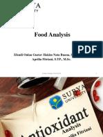 [Anpang] Antioxidant Analysis