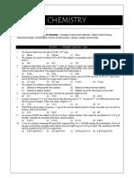 Chemistry Dpp 1 ( Sample )