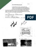 Sheriff Carmine Marceno's timesheets