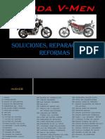 Reparaciones para Moto Honda VMan