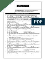 Chemistry Dpp 2 ( Sample )