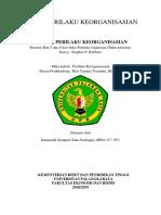 Resume Bab 5 dan 6 dari buku Perilaku organisasi (Buku pertama)