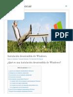 Www Daviddelrio Es Instalacion Desatendida de Windows