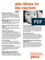 10 Steps to Eliminate Racism