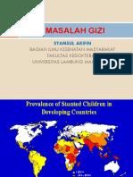 Dr. Syamsul - Masalah Gizi 2015