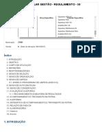 SDPO - PILAR GEST╟O - REGULAMENTO - 5S