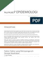 Konsep Epidemiologi Klp 2