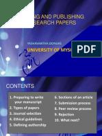 Writing & Publication
