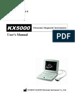 Ecografo KX5000