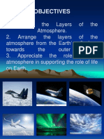 PPT Presentation on Layers of the Atmosphere