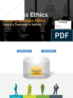 Business Ethics - Kelompok 2 Case 2.3 Teaching or Selling