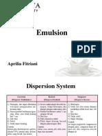 [KBP] Emulsion