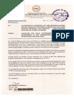 Dilg Memo Circular 2016-68