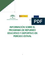 Programa Ref Educativo Deportivo Información