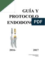 Guía y Protocolo Endodoncia